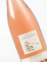 Domaine de la Verriere rosé, AOC Ventoux, 2013